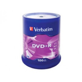 Verbatim DVD+R  16X 4.7GB Branded