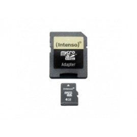 Intenso SD MicroSD Card  4GB Intenso i