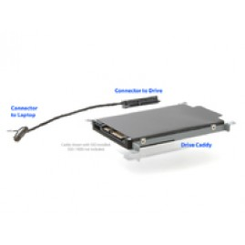 MicroStorage 2nd HDD Caddy & Cable for HP