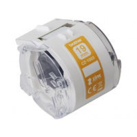 Brother 19mm white tape - 5m.
