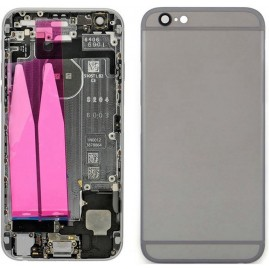 MicroSpareparts Mobile back cover - Space Grey