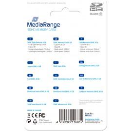 MediaRange SD Card 8GB SDHC CL.10