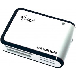 i-tec I-TEC USB 2.0 CARD READER WHIT