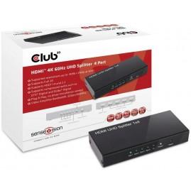 Club3D HDMI 2.0 UHD Splitter 4 Ports