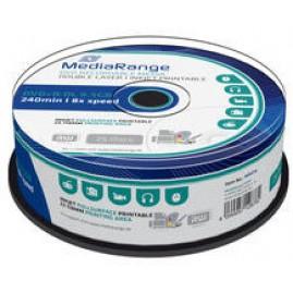 MediaRange DVD+R DL 8x 25pcs Cake Inkjet