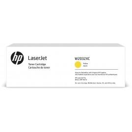 HP 415X Yellow Contractual LaserJ