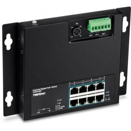 TrendNET 10-Port Industrial Gigabit PoE