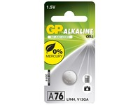 GP Batteries ALKALINE BUTTON CELL LR44