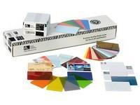 Zebra PVC cards White 30 mil, 500pcs