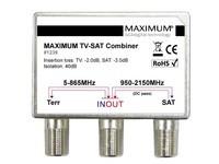 Maximum TV-SAT Combiner