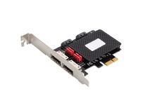 MicroConnect 4 port SATA3.0 PCIe card