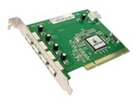IOGEAR 5 Port USB 2.0 PCI Card for PC