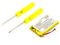 MicroBattery 2.6Wh MP3, MP4 & Audio Battery