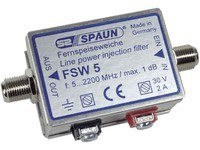 Spaun FSW-5 power injectfilter