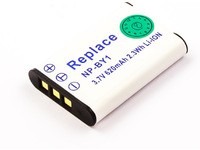 MicroBattery 2.3Wh Camcorder Battery