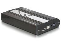 Delock 3.5 Ext encl SATA USB2.0/eSATA