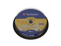 Verbatim DVD+RW 4X, 4.7GB Branded