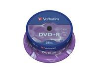 Verbatim DVD+R  16X 4.7GB Branded