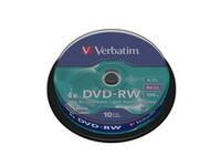 Verbatim DVD-RW 4x, 4.7GB Branded