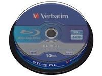 Verbatim BD-R DL 50GB 6X 10 pack