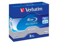 Verbatim BD-R DL 50GB 6X 5 pack