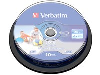 Verbatim BD-R Single Layer 25GB 6X