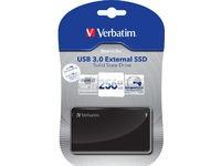Verbatim SSD 256 GB, External Drive