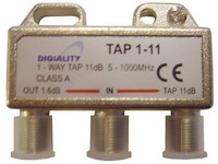 Digiality Antenna 1-Way Tap 11 dB split
