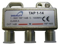 Digiality Antenna 1-Way Tap 14 dB split