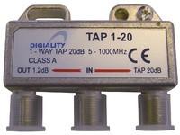 Digiality 1-way tap 1.2 /20 dB