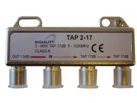 Digiality 2-way tap 1.5/17 dB
