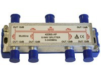 Maximum Splitter 6 way 5-2250 MHz 6xdc