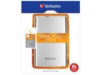 Verbatim External HD 1 TB Silver