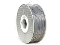 Verbatim PLA 3D Filament, Silver/Metal
