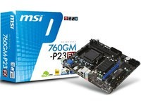 MSI 760GM-P23 (FX) AM3+ 760G MATX