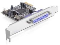 Delock I/O PCI-Express 2xser 1x par