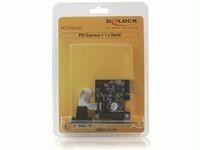 Delock 1 x Serial, PCIe,