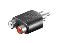 MicroConnect Adaptor RCA - 2xRCA  M-F