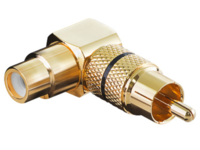 MicroConnect Audio Adaptor RCA - RCA  M-F
