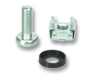 MicroConnect Set of Captive Nuts 20 x M6