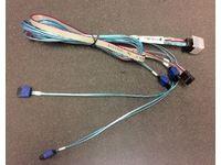 Supermicro Cable, Mini-SAS HD to 4 SATA