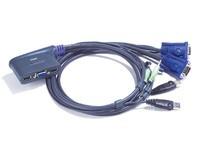 Aten 2 port USB KVM & Speaker