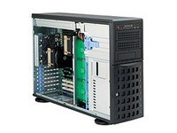Supermicro 4U /Tower, 1200W PS redundant,