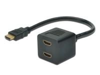 Digitus HDMI Y-splitter typeA-2xtype A