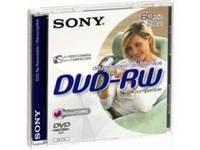 Sony DVD-RW/ 8CM/DOUBLE SIDED