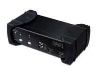 Digitus USB DVI-KVM switch. 1 user.