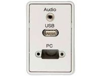 Fuga white PC1 + Lyd + USB-a
