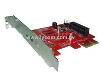 Lycom PCIe to mPCIe Card adapter
