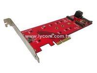 Lycom 1x PCIe3.0 x4 + 2x SATA