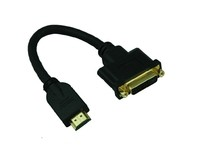 MicroConnect Adapter HDMI -  DVI M/F, 15CM